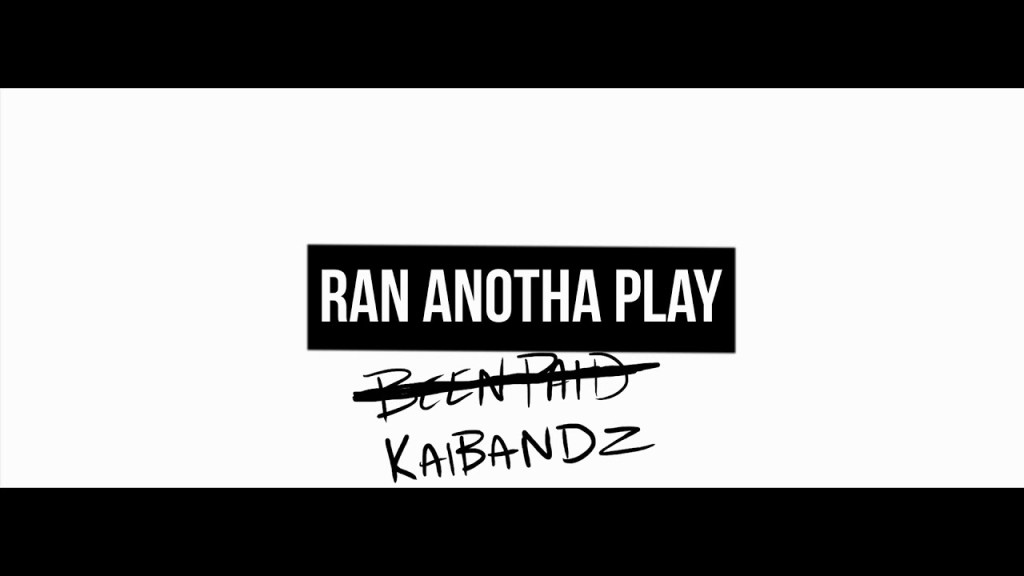 Kai Bandz – Ran Another Play (Video)