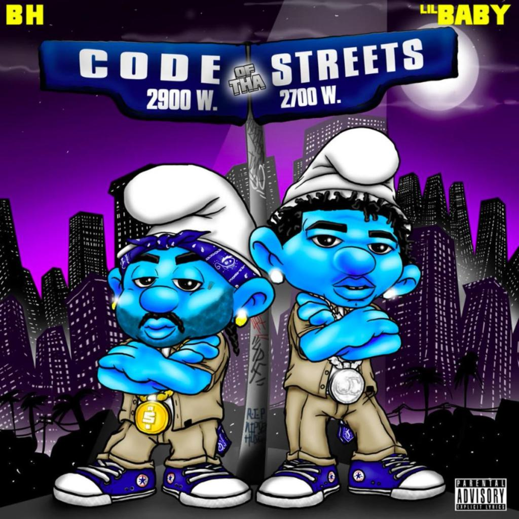 B.H. – Code Of Tha Streets ft Lil Baby  (Audio)