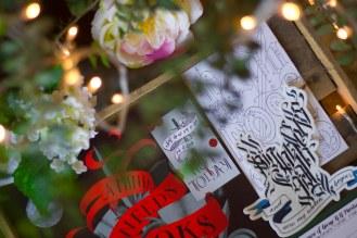 Fridge Magnet, Postcard and Pin Badge
