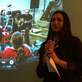 Laura talks about how her story led to Migration Lab