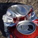 再利用する空き缶