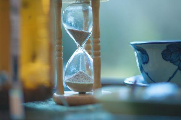 タイミング 砂時計