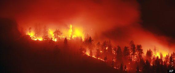 Peachland Fire