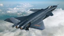 3-D Simulation of China's New J-20 Stealth Fighter Shows Design Capabilities
