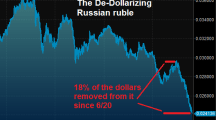 Russia may turn to cryptocurrencies in oil trade to challenge sanctions & the petrodollar