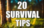 (Video)Off The Grid Emergency: 20 Wilderness Survival Tips