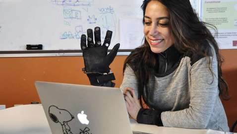 Technology puts 'touch' into long-distance relationships