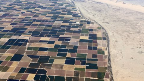California's farms are sinking after the state's extreme drought
