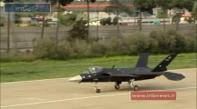 Iran shows off homemade stealth fighter jet