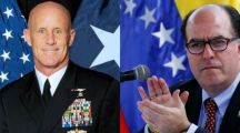 This should show you just who it is behind Venezuela's protests and economic crisis: US National Security adviser, Venezuela opposition leader discuss Venezuelan