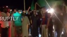 """(Video) Whether you know it or not, parts of Libya are still """"Green""""…Libyans celebrate Gaddafi's son's release from prison on Ghat's streets"""