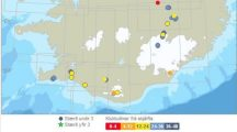 Earthquake swarm in Iceland intensifies: M5.2 and M4.5 earthquakes top the series now counting more than 2000 earthquakes since four days