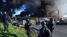 This is Karma & nothing but retribution for France leading role in stoking tensions in Libya & running point man on NATO's bombing….France in flames as 'yellow vests' hit streets despite Macron concessions