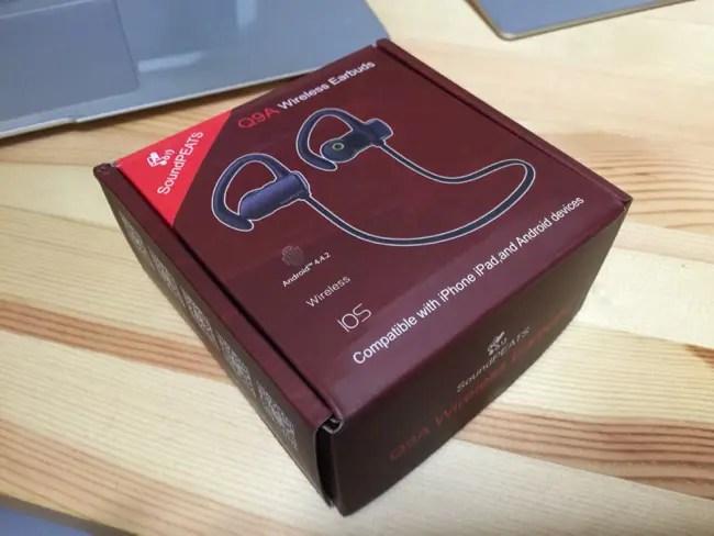 【レビュー】『SoundPEATS』から『Bluetooth ワイヤレスイヤホン ヘッドホン Q9A (ブラック)』がキターー!!