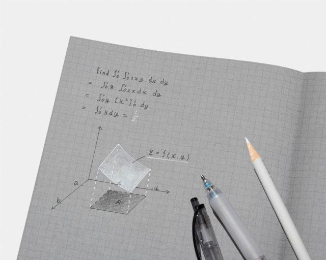 立体的に描けるコクヨの「白と黒で書けるノート」