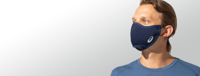 アシックス・ランナー向けマスク