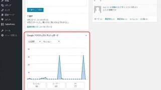 【WordPress】管理画面でアクセス解析レポート(Googleアナリティクス)を確認できるようになりました