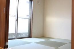 琉球風畳の和室
