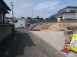 現地写真4月前面道路