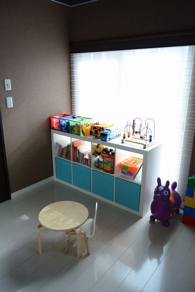 ikeaの収納家具を子供部屋に5