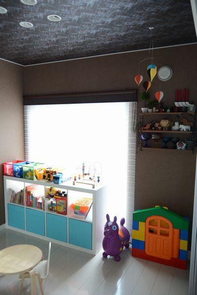 ikeaの収納家具を子供部屋に7