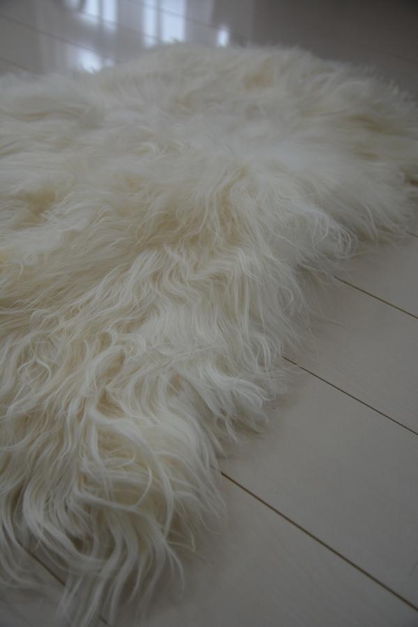 Organic Sheep ロングヘアナチュラルホワイト