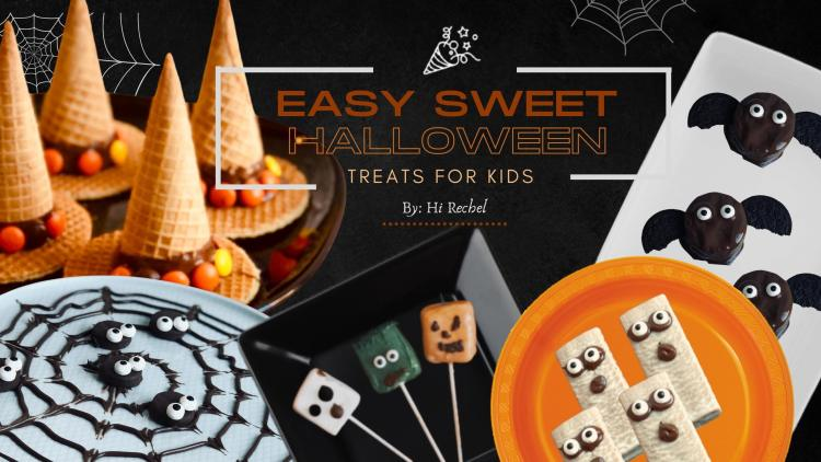 EASY TREATS FOR KIDS HALLOWEEN IN PANDEMIC 2020