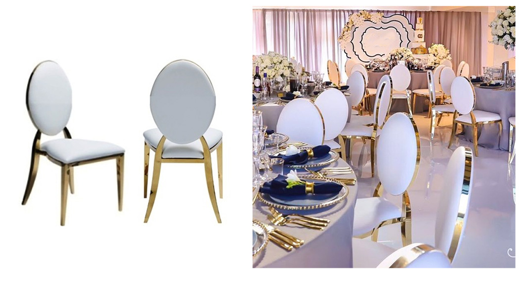 gold chairs