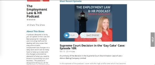 The Employment Law and HR Podcast