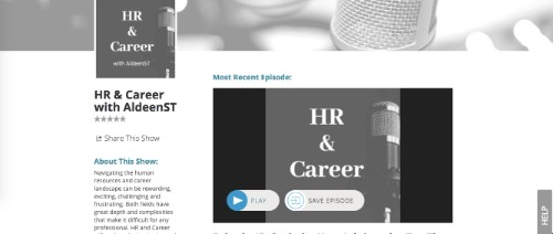 HR and Career with AldeenST