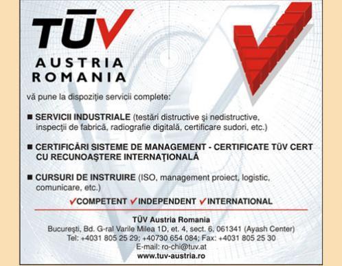 TUV AUSTRIA - ROMANIA
