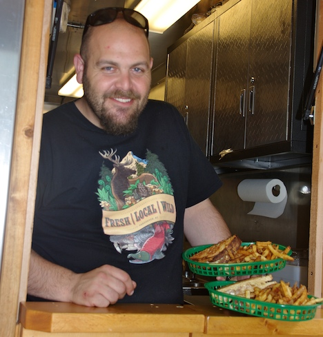 Chef Josh Wolfe: you can also find him at his food truck, Fresh | Local |Wild