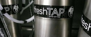 Fresh Tap kegs: pouring into popularity