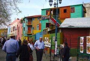 La Boca: one bustling barrio, Tim Pawsey