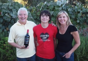 Daryl, Colby and Lisa Groom (supplied)