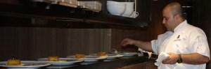 Chef Hamid never stops working. No wonder this kitchen runs like clockwork.