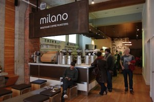 Cozy up to Milano's bar for an espresso revelation