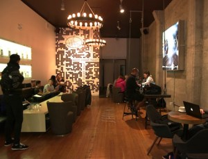 Milano espresso lounge is a great space, sensitively restored