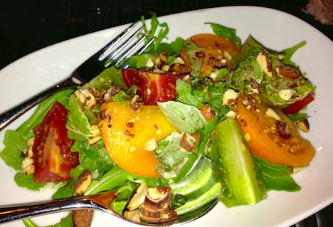 Watermark's bountiful in season salad with heritage tomatoes and more ...