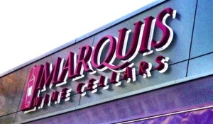 Marquis Wine Cellars, Vancouver, sign