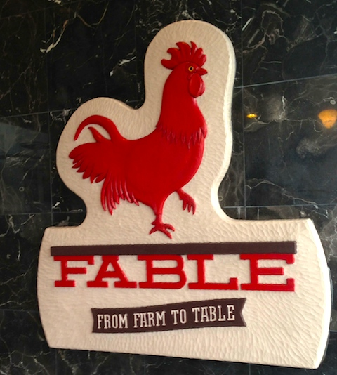 Fable Kitchen - plenty to crow about!