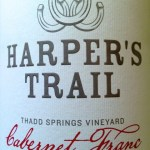 Kamloops' first winery, Harper's Trail Releases Inaugural Cabernet Franc