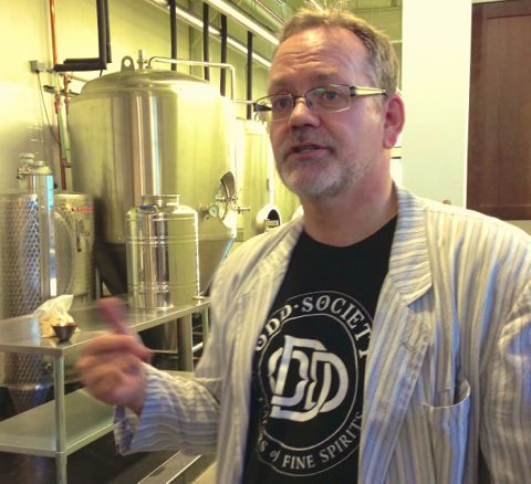 Odd Society's Gordon Glanz: home winemaker turned serious distiller