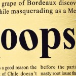 (oops) wine – A Cautionary Tale of Typography