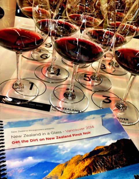Contrasting New Zealand Pinot Noir