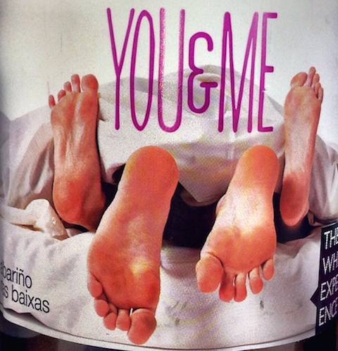 "You & Me ""Feet"" label"