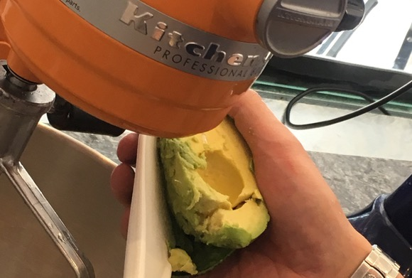 Mister avocado ice cream