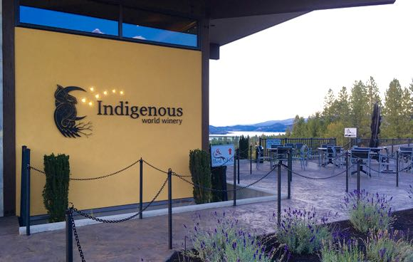 Indigenous World entrance