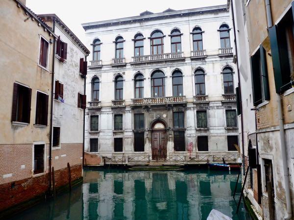 Venice water square