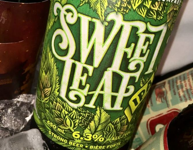 Parksville Untapped Red Arrow sweet leaf